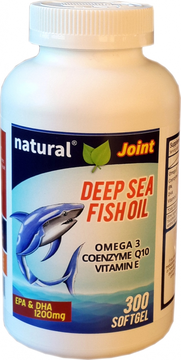 Natural joint deep sea fish oil omega 3 coenzyme q10 for Fish oil for joints