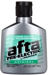 Afta Pre-Electric Original Not Greasy Oil Free Shave Lotion