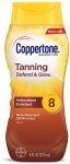 Coppertone Tanning Defend & Glow SPF 8