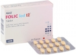 Folic iod 12 Tablet