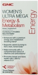 GNC Women's Ultra Mega Energy & Metabolism Tablet