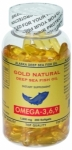 Gold Natural 1000mg Omega 3-6-9