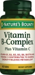 Nature's Bounty Vitamin B-Complex plus Vitamin C