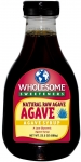 Wholesome Sweeteners Natural Raw Agave Şurubu