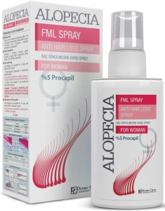 Alopecia Anti Hair Loss Dermal FML Spray %5 Procapil