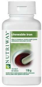 Amway Nutriway Chewable Iron Tablet