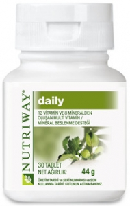 Amway Nutriway Daily Tablet