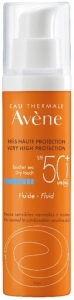 Avene Very High Protection Dry Touch Fluide SPF 50+