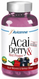 Avicenna Acai Berry Red Pepper Guarana