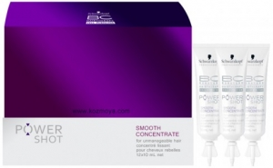 Bonacure Power Shot Smooth Concentrate Asi & Kabar�k Sa�lar ��in D�zle�tirici K�r