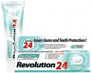 Dental Pro Revolution Total Protection 24H Komple Onarıcı Diş Macunu
