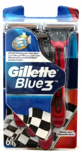 Gillette Blue3 T�ra� Jileti (Kullan At)