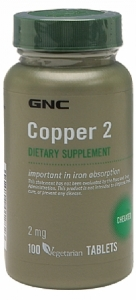 GNC Copper Tablet