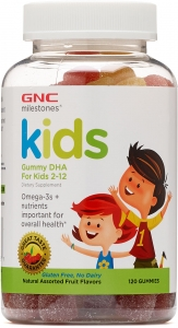 GNC Kids Gummy DHA For Kids 2-12