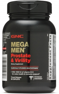 GNC Mega Men Prostate Virility Tablet