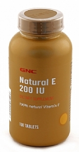 GNC Natural E 200 Tablet