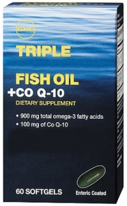 GNC Triple Fish Oil + COQ-10
