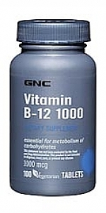 GNC Vitamin B-12 Tablet