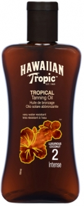 Hawaiian Tropic Tropical Tanning Oil SPF 2