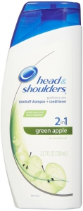 Head & Shoulders 2 in 1 Green Apple Kepek Şampuanı