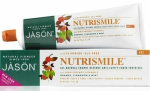 Jasön Nutrismile Orange Cinnamon & Mint Enamel Defense Diş Macunu Jeli