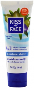 Kiss My Face 4 in 1 Fragrance Free Moisture Shave