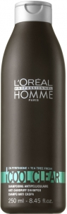 Loreal Professionnel Homme Cool Clear Kepek Önleyici Şampuan
