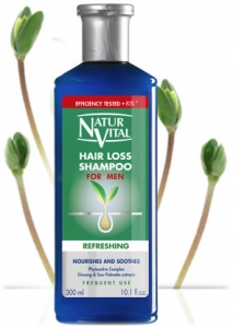 NaturVital Hair Loss For Men Şampuan