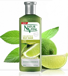 NaturVital Oily Hair Lime Şampuan