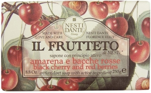 Nestidante Il Frutteto Black Cherry & Red Berries Sabun