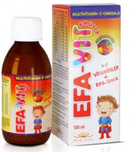 New Life EFA-Vit Fruity Omega3