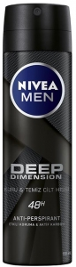 Nivea Men Deep Dimension Deodorant Sprey