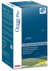 Ocean Fish Oil Plus Kapsül