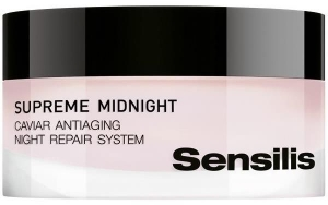 Sensilis Supreme Midnight Caviar Antiaging Night Repair System Cream