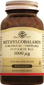 Solgar Methylcobalamin (B12) Tablet