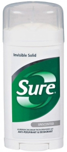 Sure Unscented Antiperspirant Deodorant