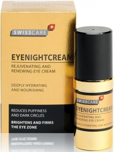 SwissCare EyeNightCream Rejuvenating & Renewing Eye Cream
