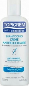 Topicrem Anti-Dandruff Cream Shampoo