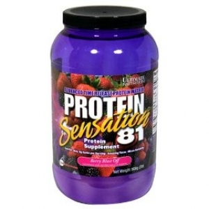 Ultimate Nutrition Protein Sensation 81 Berry