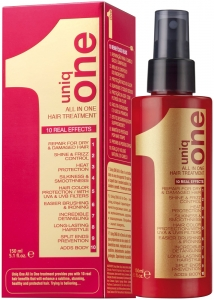 Uniq One All In One Hair Treatment - 10 Etkili Durulanmayan Sprey Maske
