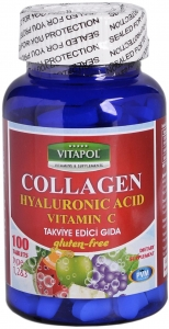 Vitapol Collagen Hyaluronic Acid Vitamin C Tablet